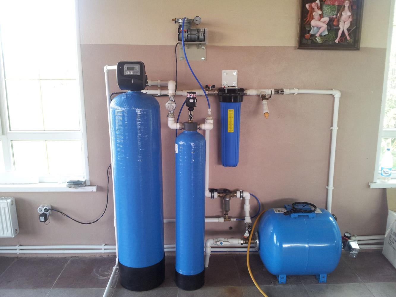 Как сделать систему водоочистки